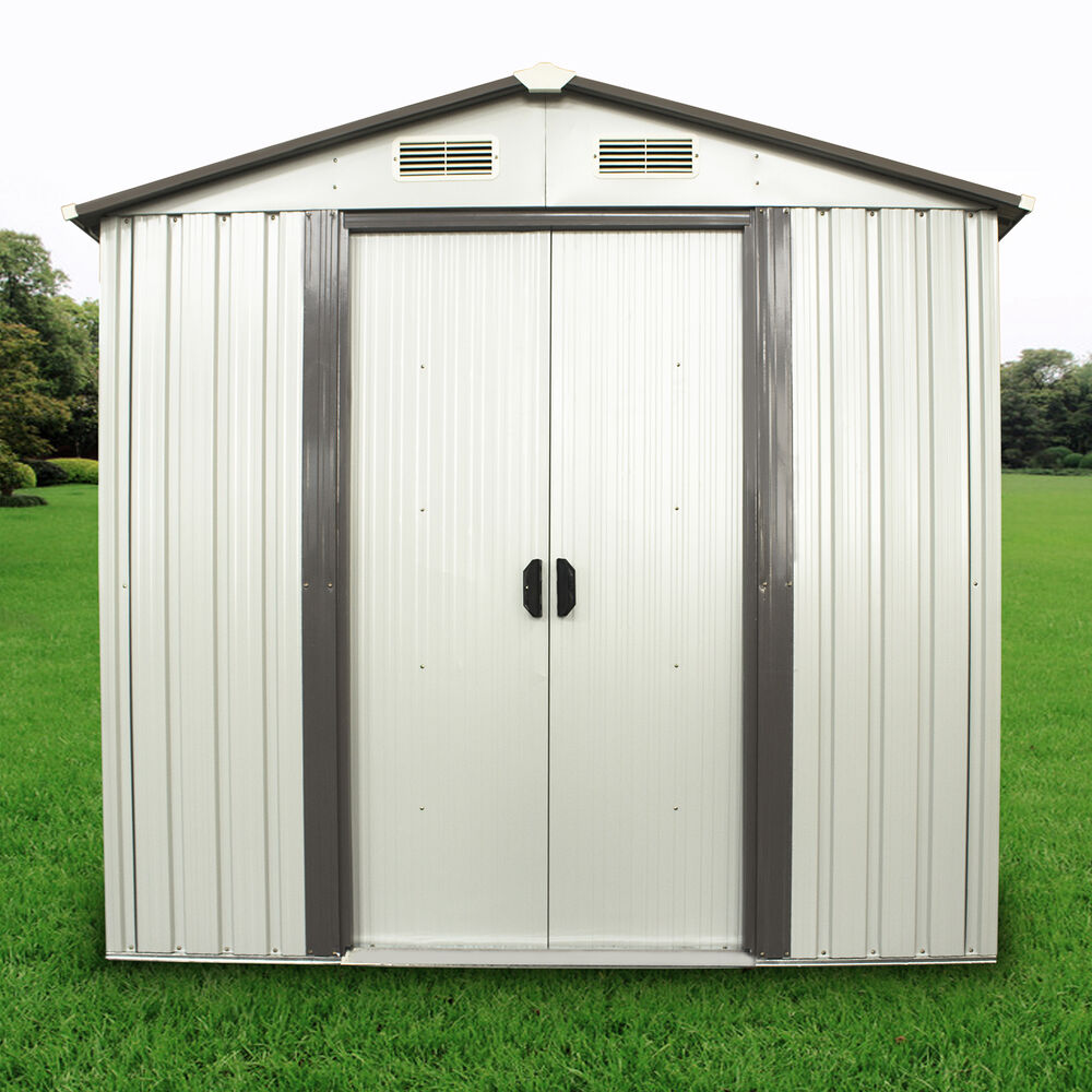 6 39 X4 39 Outdoor Utility Tool Storage Shed Backyard Garden