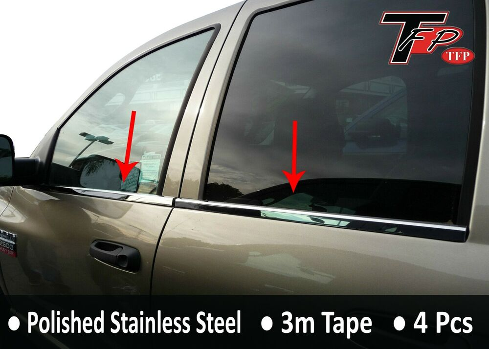DODGE RAM 1500 (QUAD CAB) TRUCK 2004-2008 TFP CHROME ...