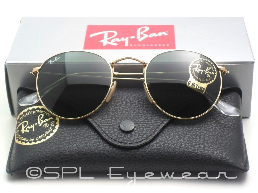 b06dd0217fcc3 Ray Bans 3447 Blue Lens With Gold Frame « Heritage Malta