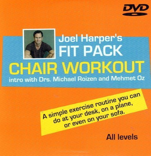 JOEL HARPER S FIT PACK CHAIR WORKOUT DVD STRETCHING DESK