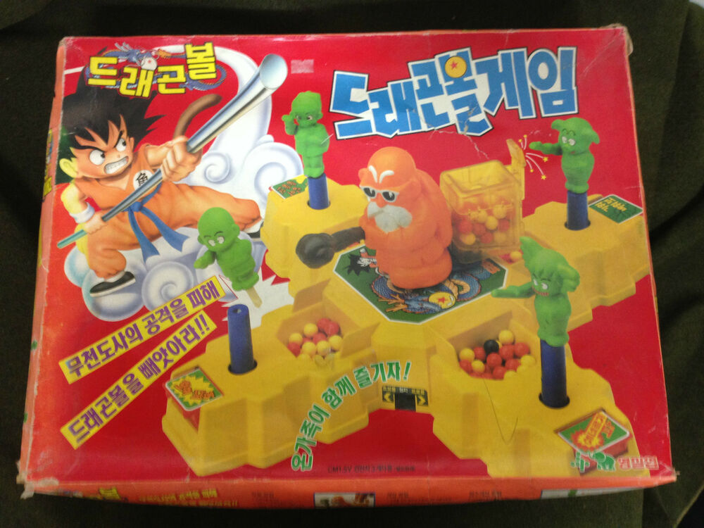 Japanese Toys And Games : Rare korea dragonball action board game kame sennin