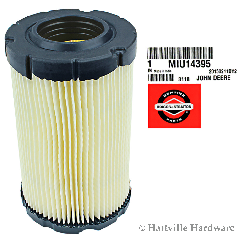 John Deere Air Cleaner Parts : Genuine john deere miu air filter ebay