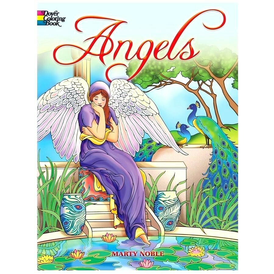 Angels Dover Creative Haven Coloring Books For Grownups