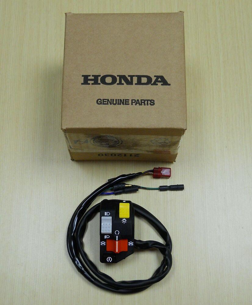 Honda Recon 250 >> 1997-2001 Honda TRX 250 TRX250 Recon Foot Shift Start Kill Light Switch | eBay