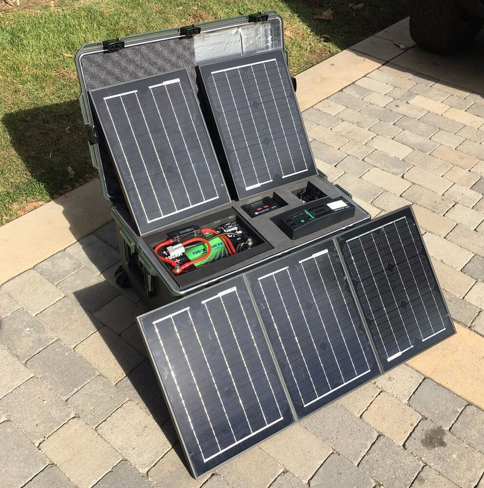 self contained portable solar system - photo #25