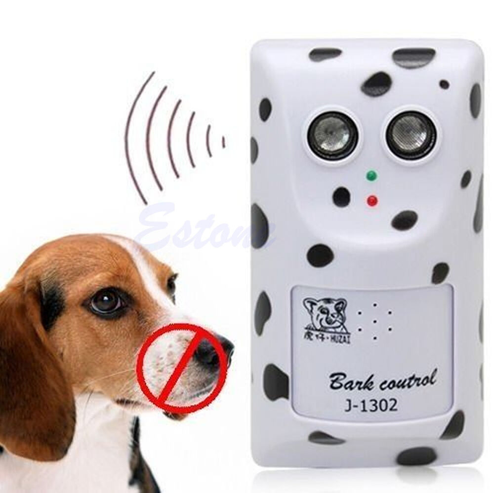 Humanely Ultrasonic Anti No Bark Device Stop Control Dog