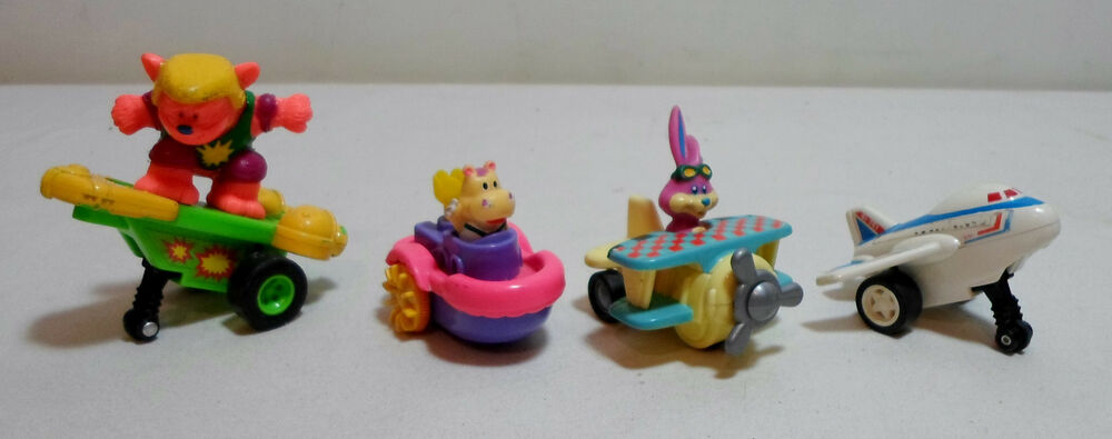 Rare Toys From The 80s : St toys vtg s lot of vehicles with pull back action
