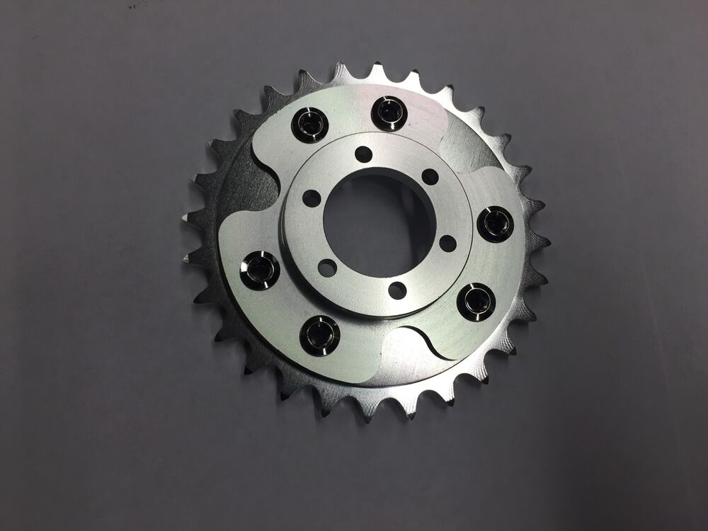 Motorized Bicycle Rear Cnc Disc Brake Adapter And 28t