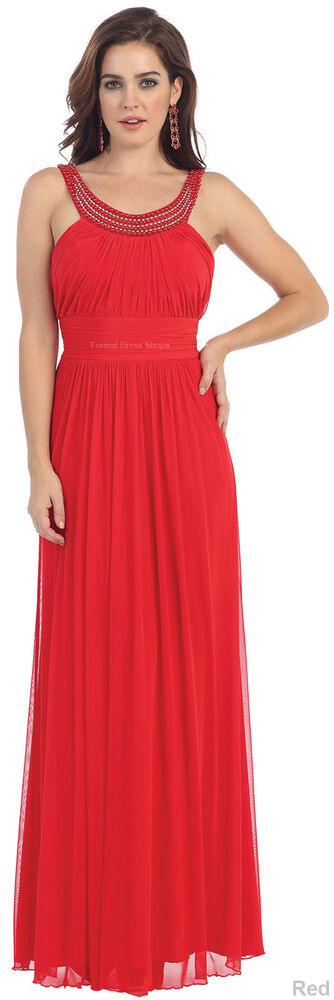 LONG SPECIAL OCCASION EVENING GOWNS BRIDESMAIDS DRESSES ...