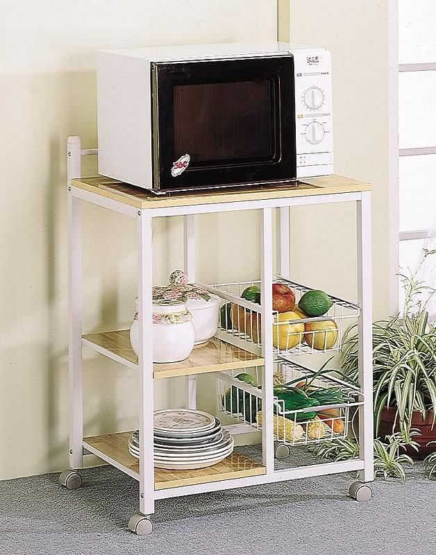 Coaster Home Furnishings  Transitional Kitchen Cart