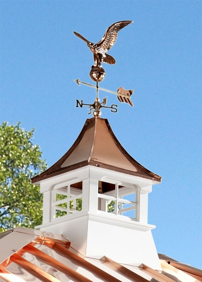 Weathervanes >> Accentua Charleston Cupola with Eagle Weathervane, 24 in. Square, 63 in. High | eBay