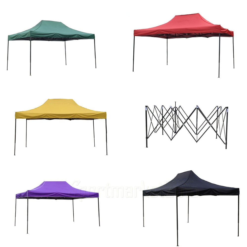10x10 Commercial Pop Up Wedding Party Tent Folding Gazebo