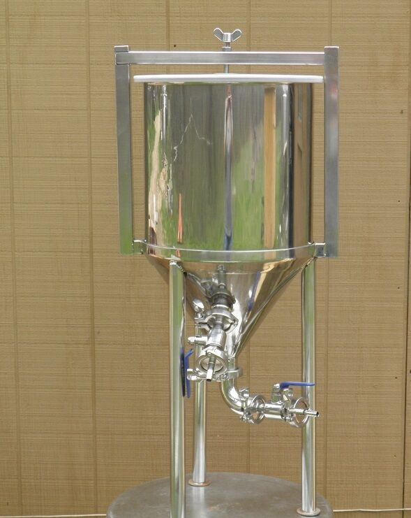 8 Gallon Conical Fermenter Home Brewing Beer Stainless