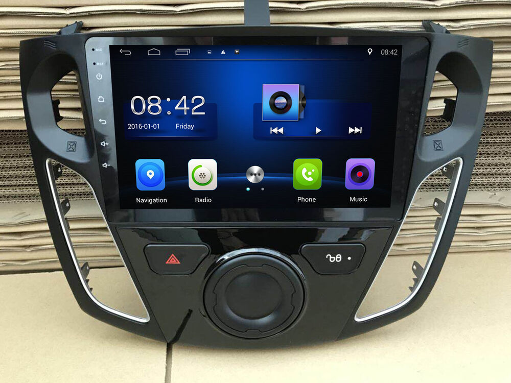 "9"" WiFi/3G Android Touch Screen Car Stereo Radio GPS"