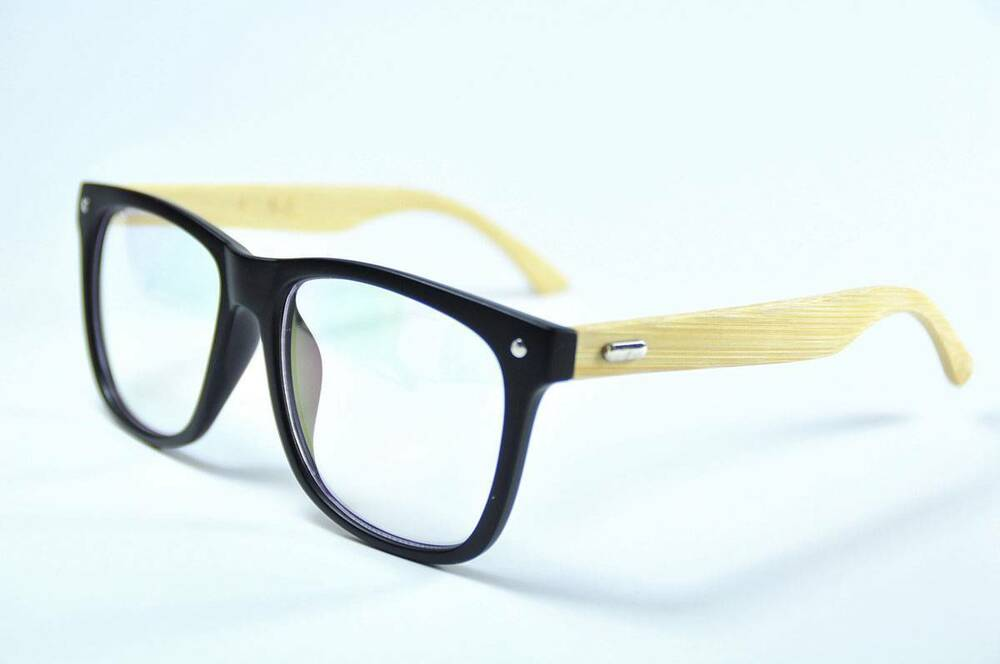 Wooden Framed Fashion Glasses : Fashion Handmade Mens Wooden Glasses Oversized Eyeglasses ...
