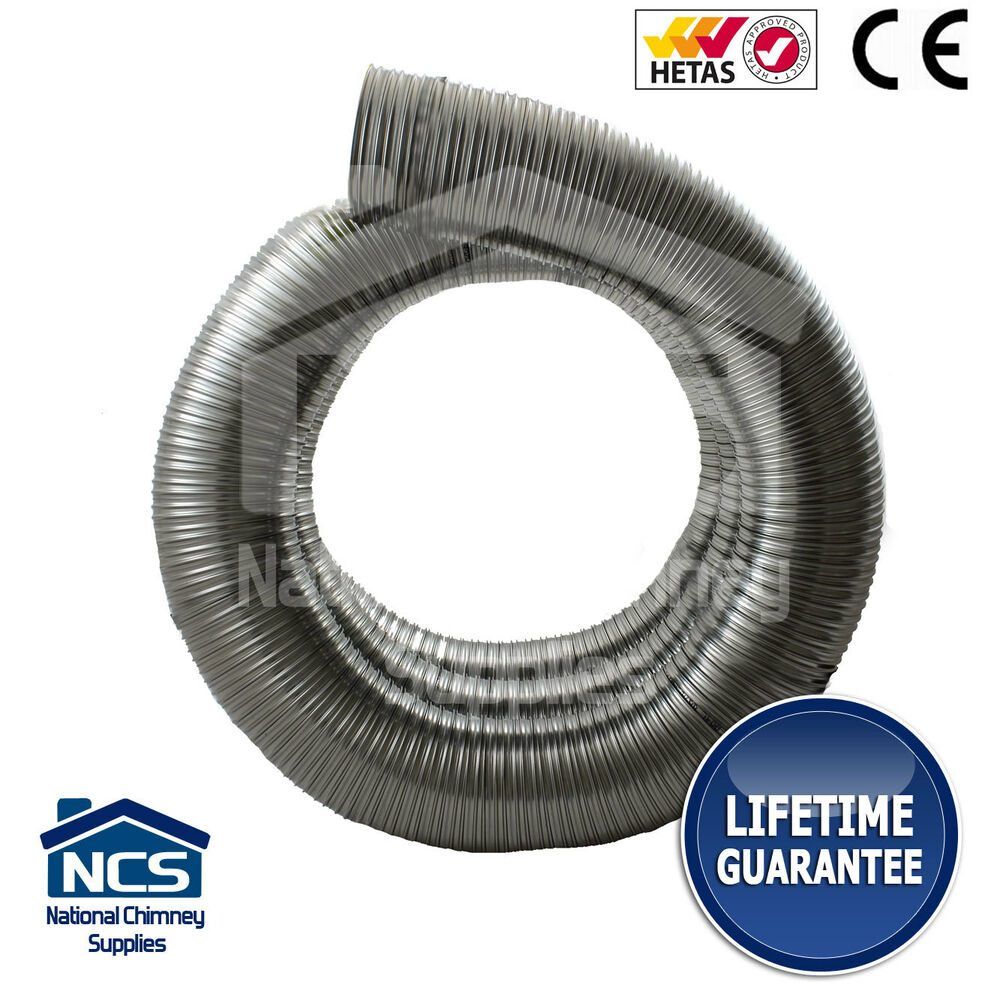 904 Multi Fuel Flexible Flue Chimney Liner Ebay
