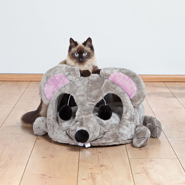Cat cave scratcher house bed scratching post toy condo tree furniture kitten new ebay - Cat bed scratcher ...
