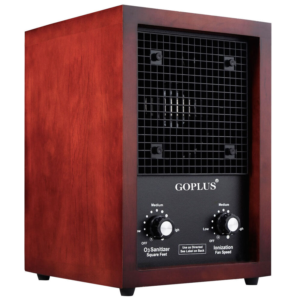 goplus 3500sq ft air purifier ionic ozone ionizer cleaner fresh clean home ebay. Black Bedroom Furniture Sets. Home Design Ideas