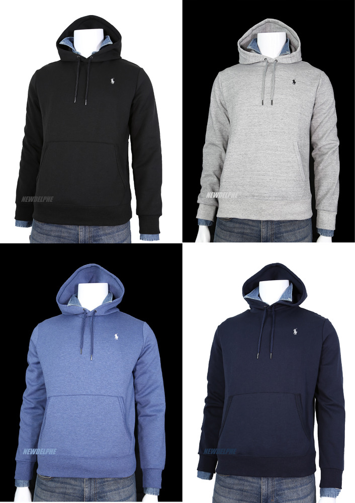f64979bbb Details about NWT Polo Ralph Lauren Men s Pony Classic Pullover Hoodie  Sweatshirt MSRP  98.00