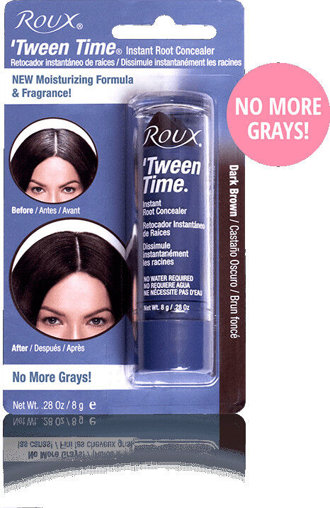 Roux Tween Time Instant Haircolor Touch Up Stick Dark