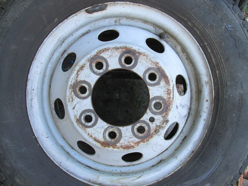 Used Ford Wheels : F ford oem truck van bus steel lug rim