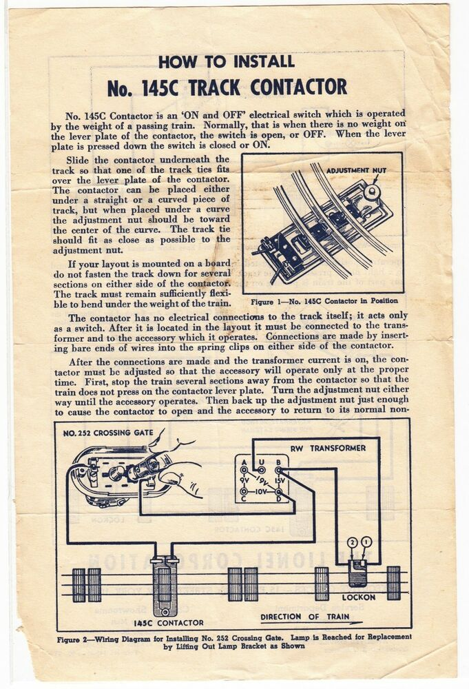 train accessory lionel crossing gate wiring diagrams | wiring     on  lionel fastrack wiring