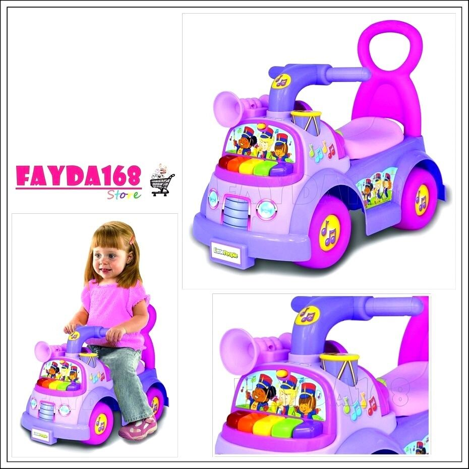 new car toy activity kid music parade ride on play toddler children fisher price ebay. Black Bedroom Furniture Sets. Home Design Ideas