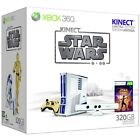 Microsoft Xbox 360 Kinect Star Wars Limited Edition 320 GB Matte White Console (NTSC-U/C (US/CA))