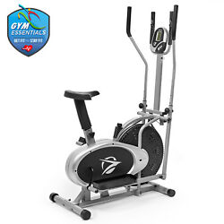 Kyпить Elliptical Machine Cross Trainer 2 in 1 Exercise Bike Cardio Fitness Home Gym на еВаy.соm