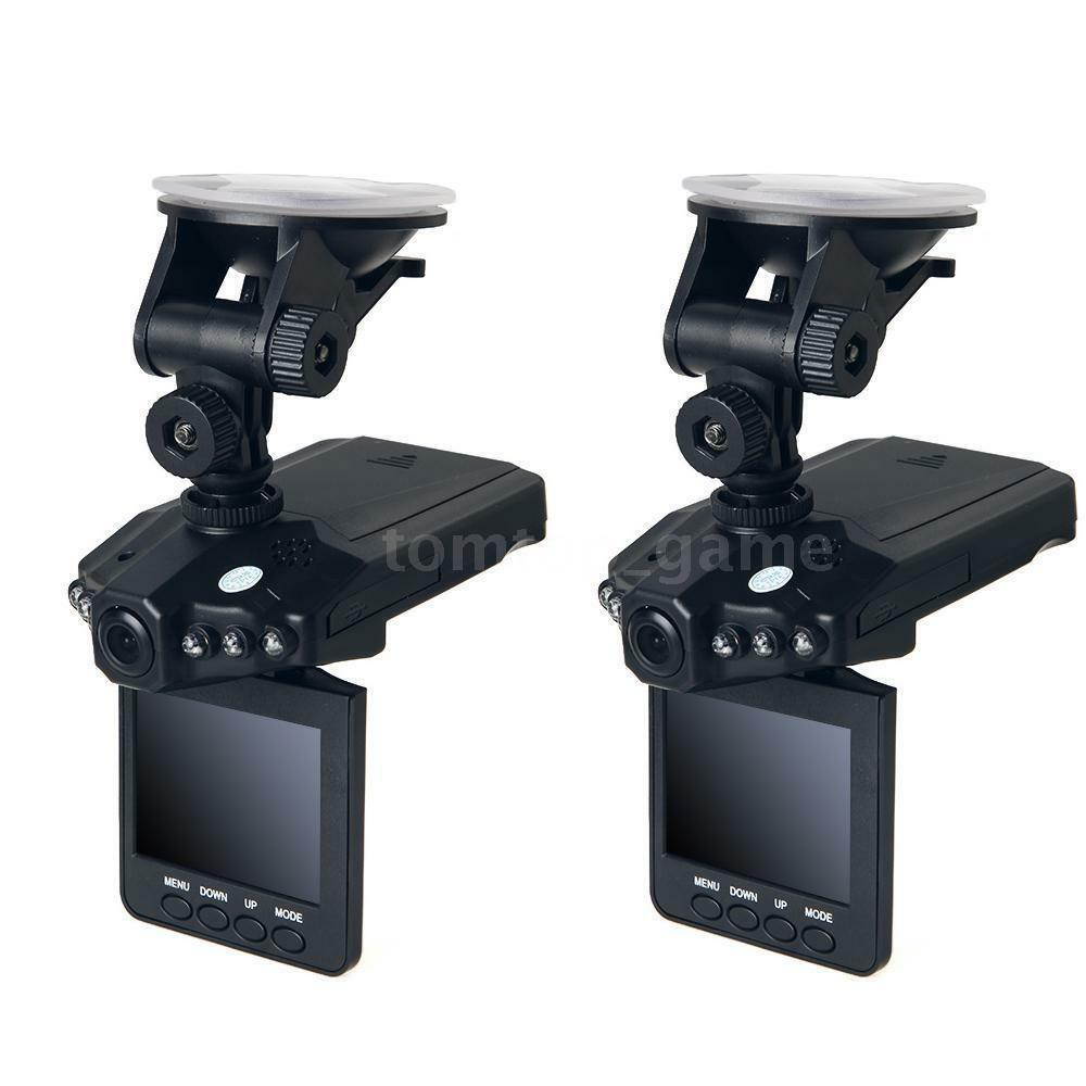 2x 2 5 hd car vehicle dash dashboard camera ir dvr cam. Black Bedroom Furniture Sets. Home Design Ideas