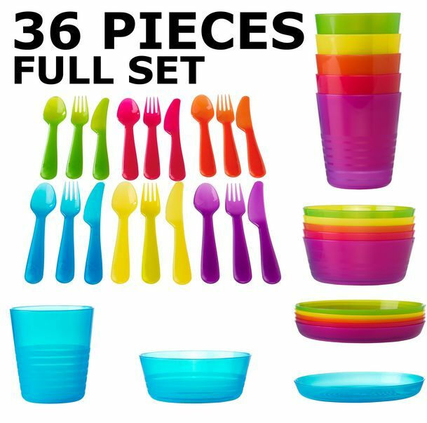 Ikea children bowls plates utensils cups tableware - Cups and kids ...