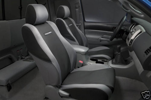 toyota tacoma 2005 08 oem trd seat covers bucket seats ebay. Black Bedroom Furniture Sets. Home Design Ideas