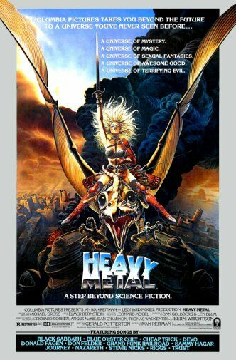 heavy metal taarna movie poster 24inx36in ebay. Black Bedroom Furniture Sets. Home Design Ideas