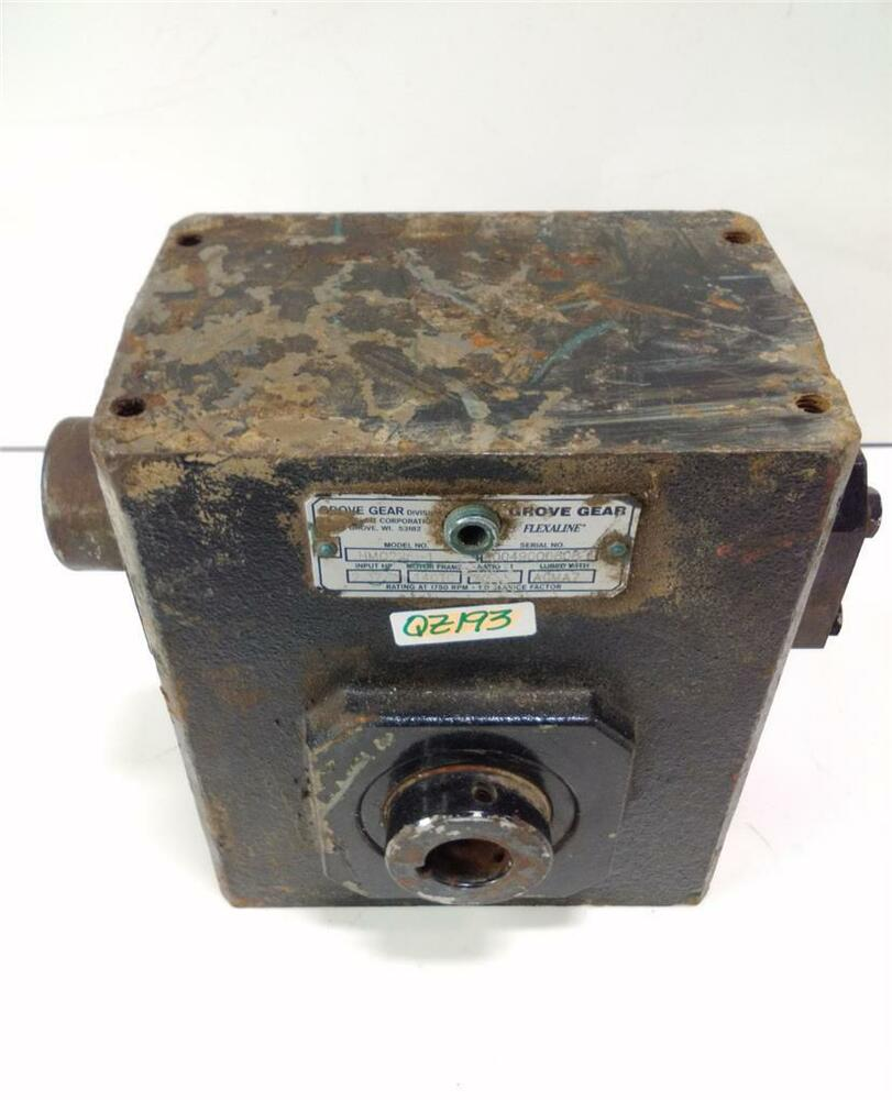 Grove gear speed reducer hmq226 1 kjs ebay for 1 20 hp electric motor