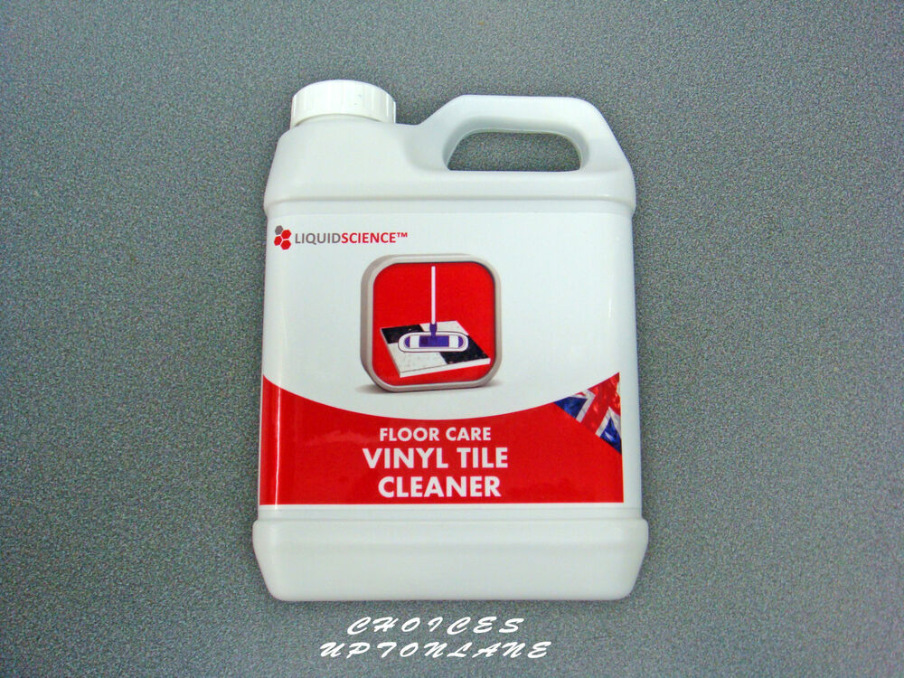 LIQUID SCIENCE FLOOR CARE VINYL TILE CLEANER 1 LTR EBay