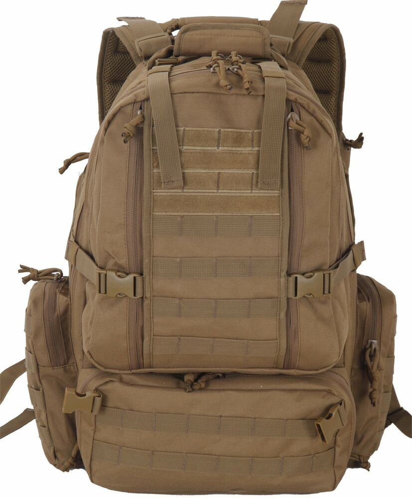 Assault 3-Day 72 Hours Survival Pack Backpack TAN COLOR ...
