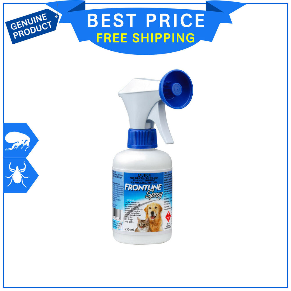 Frontline Spray For Cats And Dogs Flea Tick Control