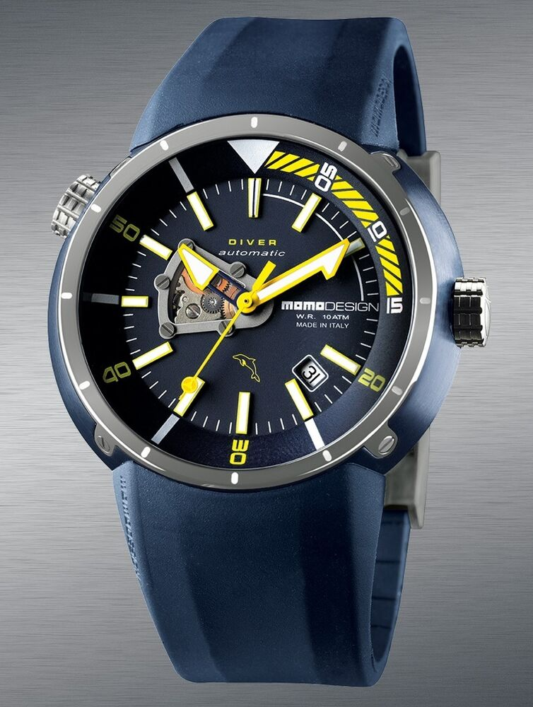 Momo design diver pro made in italy swiss eta automatic for Design made in italy