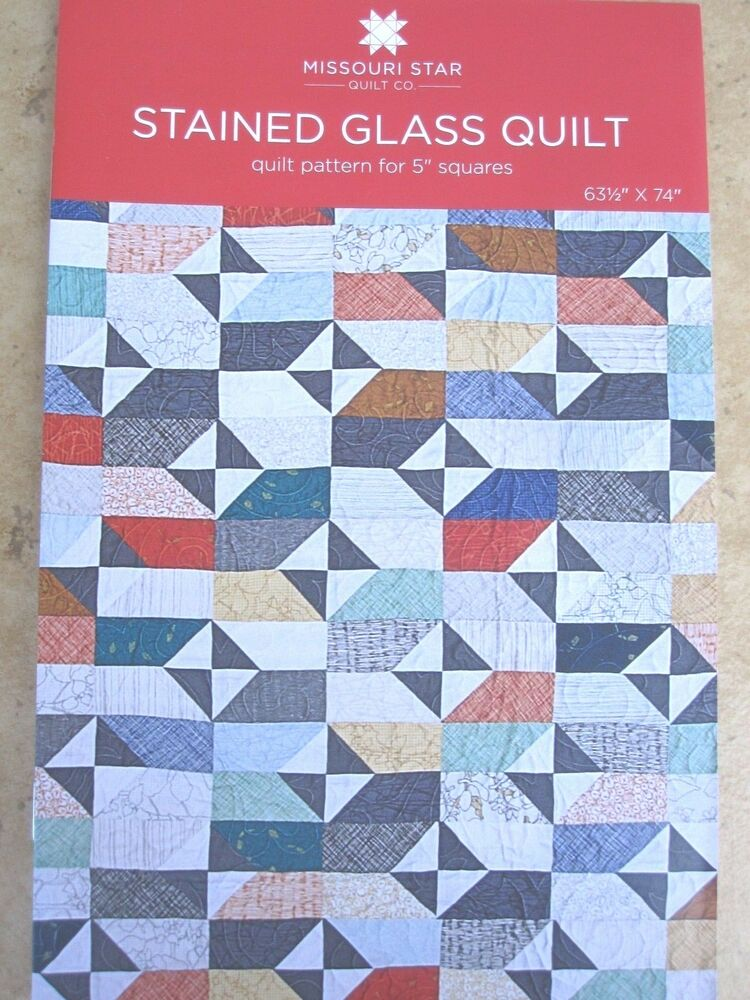 Stained glass quilt pattern for 5 squares new by msqc for Window pane quilt design