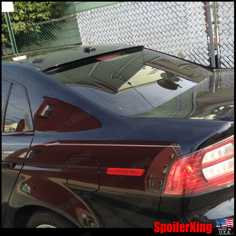 Rear Roof Spoiler Window Wing (Fits: Acura TL 2004-08