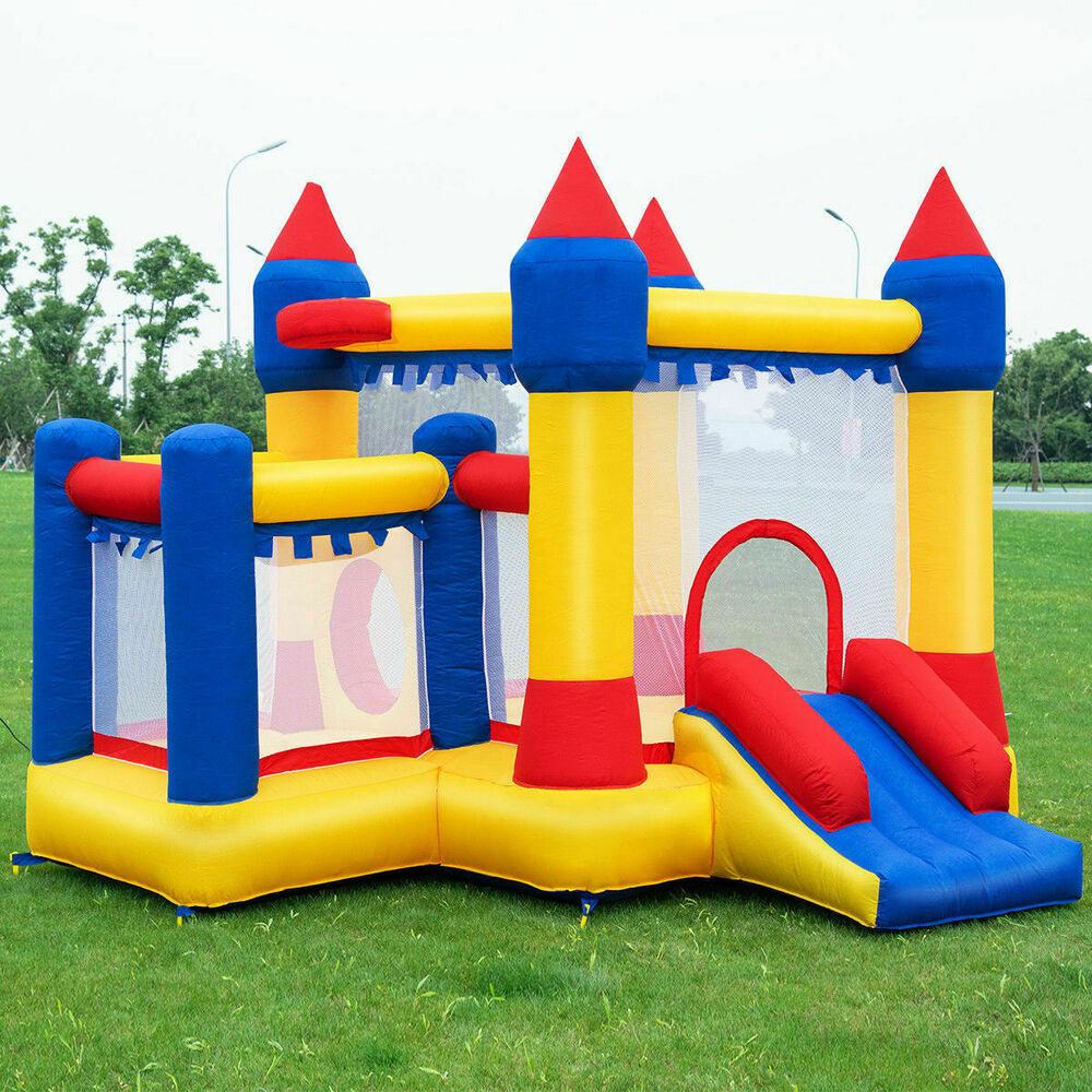 Goplus Inflatable Bounce House Castle Commercial Kids ...
