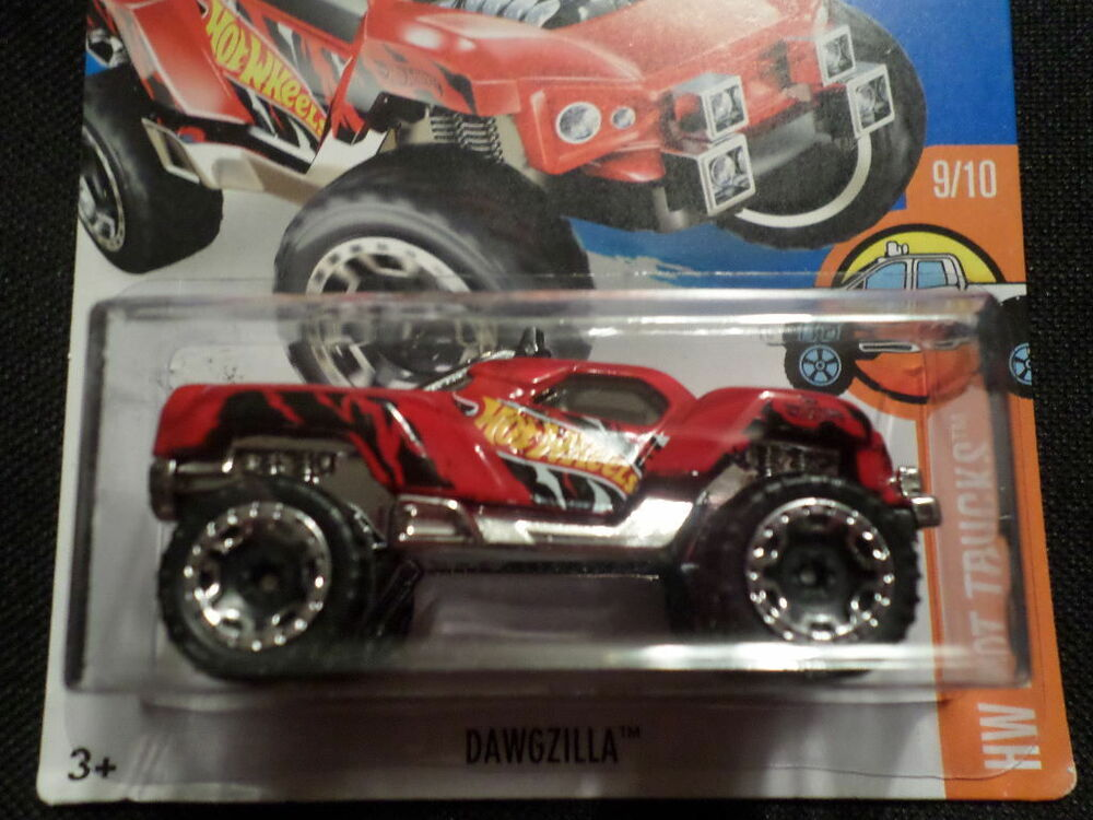 Hw hot wheels 2016 hw hot trucks 9 10 dawgzilla hotwheels for 9 salon hot wheels 2016