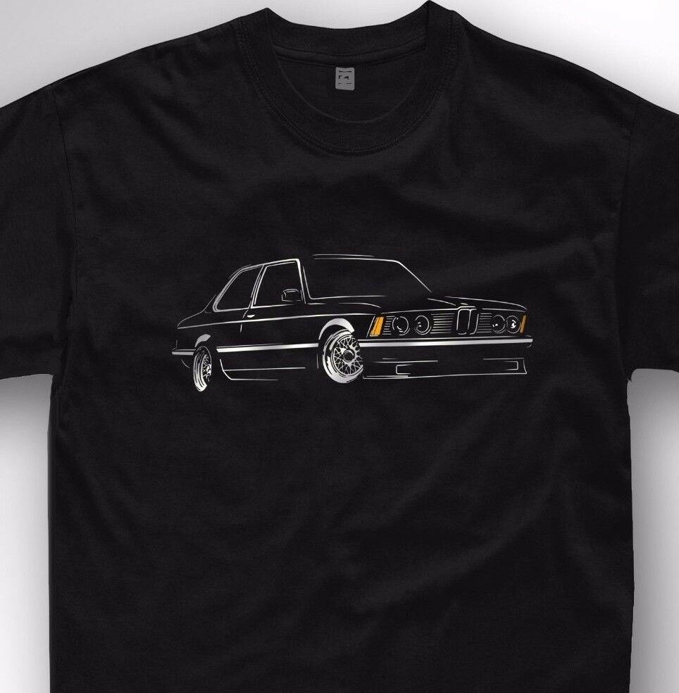 t shirt for bmw e21 fans classic bimmer design 318 320. Black Bedroom Furniture Sets. Home Design Ideas