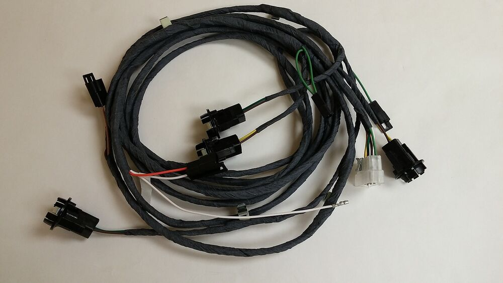 1967 Camaro Rs Convertible Rear Light Wiring Harness Rally