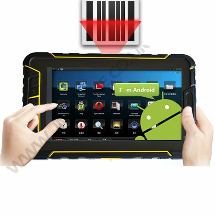 rugged android 5 1 barcode scanner waterproof ip67 tablet with 4g wifi nfc gps ebay. Black Bedroom Furniture Sets. Home Design Ideas