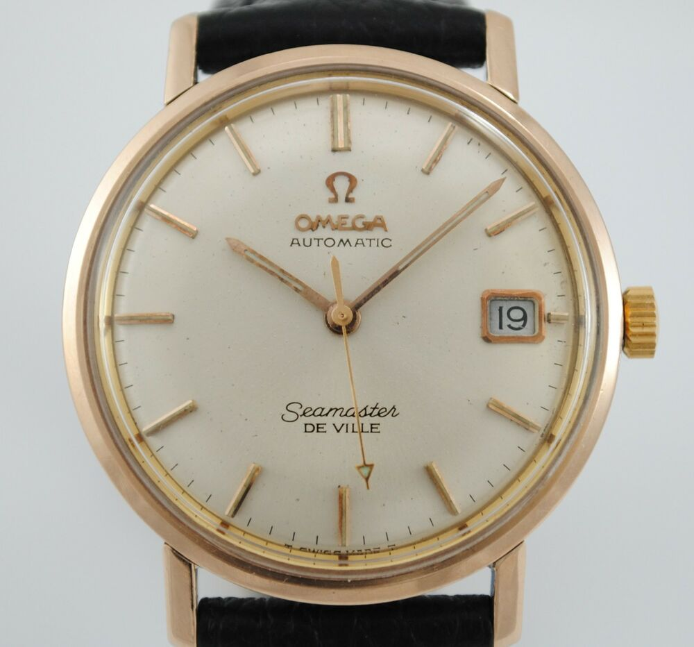 OMEGA SEAMASTER DE VILLE REF 166.020 STEEL AND GOLD ...