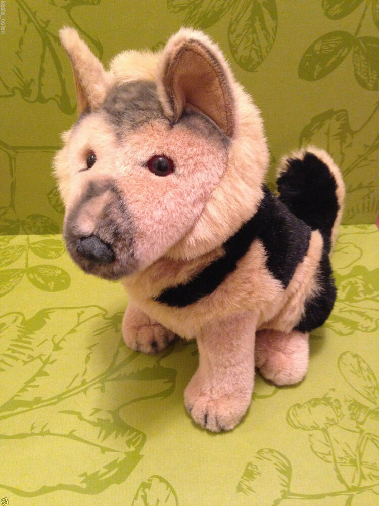 Large Toy Dogs : Jcpenney german shepherd quot large plush stuffed animal
