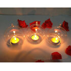 Clear Hanging Glass Candle Holder Votive Candlestick Wedding Party Decor PC23