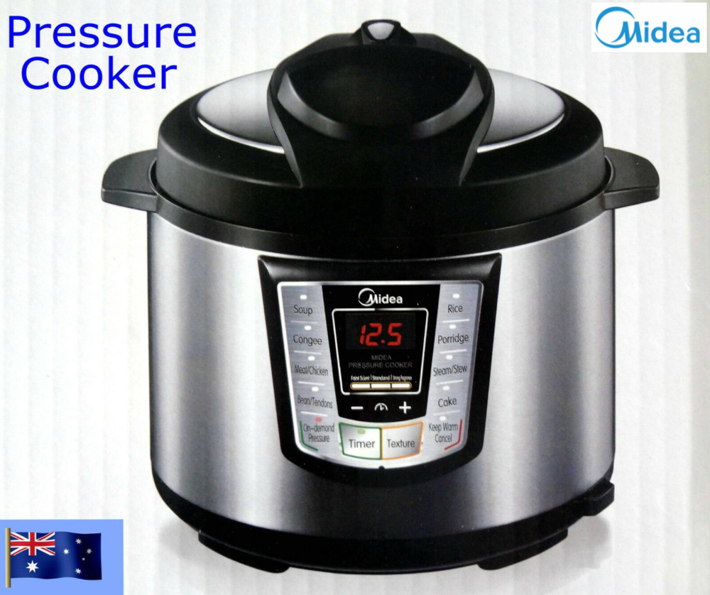 Pressure Cooker Brands: Midea Automatic Electric Pressure Cooker With Eight
