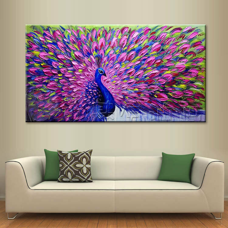 modern abstract large wall decor oil painting on art
